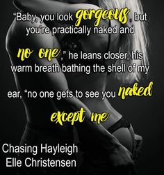 Practically naked teaser Chasing Hayleigh