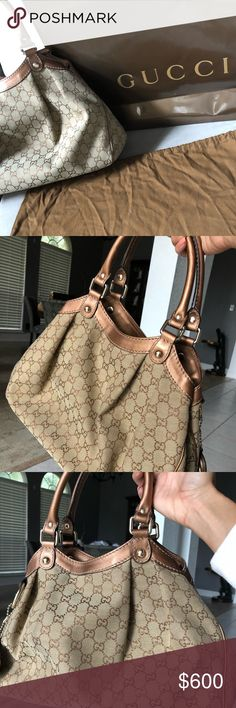 Gucci Sukey Tote medium This beautiful bag comes in excellent used  condition. No rips b4b0c3460e845