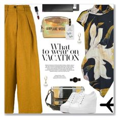 """Keep The Family Close, Drake"" by blendasantos ❤ liked on Polyvore featuring Vivienne Westwood Anglomania, Forte Forte, xO Design, Marni, Pinch, CLUSE, Alexander Wang, MAC Cosmetics and airportstyle"