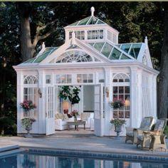 My dream pool house