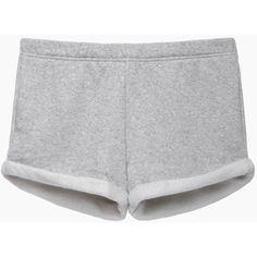 Rag & Bone / Jean Boyfriend Short ($92) ❤ liked on Polyvore featuring shorts, bottoms, grey, lightweight shorts, short shorts, boyfriend shorts, relaxed fit shorts and elastic waist shorts