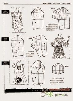 Techniques Couture, Sewing Techniques, Dress Sewing Patterns, Clothing Patterns, Sewing Sleeves, Pattern Draping, Modelista, Sewing Lessons, Collar Pattern