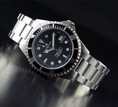 Steinhart Ocean One Black (Rolex Submariner Homage)