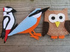 British bird felt fridge magnets, animal kitchen decor £9.00 #wildlife #birds #nature #gifts Gifts For Nature Lovers, Lovers Gift, Gift For Lover, Wild Life, Felt Magnet, British Wildlife, 8th Of March, Office Decor, Kitchen Decor