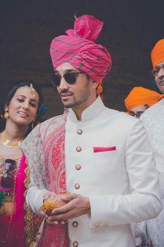 indian wedding wear during pregnancy Sherwani For Men Wedding, Wedding Dresses Men Indian, Groom Wedding Dress, Indian Wedding Outfits, Wedding Men, Sherwani Groom, Indian Weddings, Real Weddings, Menswear Wedding