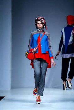 Nautical Blitz on Jakarta Fashion Week 2015, runway.