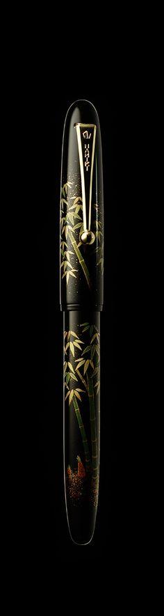 Namiki Yukari maki-e fountain pen - Bamboo