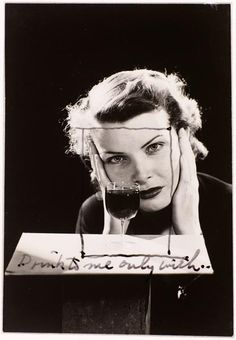 by Man Ray