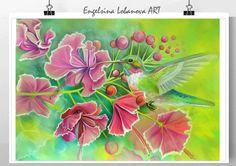 Fashionable bird in bright by FashionableBird on Etsy