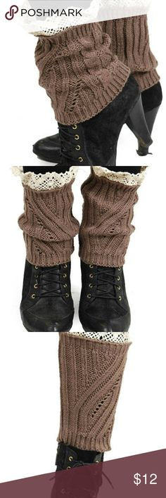 LEG WARMER THIS LEG WARMER CAN BE WORN WITH ANY STYLE SHOE. YOU CAN ALSO WEAR IT HIGHER UP ON THE LEG WITH BOOTS STAY WARM AND IN STYLE Other