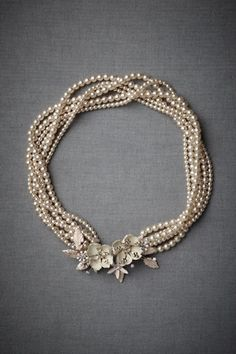 I keep saying I don't want to wear a necklace with my wedding dress..  this necklace makes me wanna change my mind!