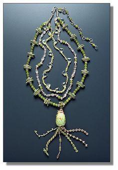 Lemonade Party Necklace by Mary Hicklin (Virgo Moon)