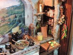 Dollhouse 1:12 scale Miniature Tuscan by VintageButterfly66