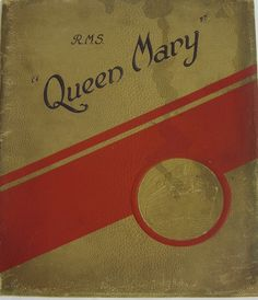 Queen MARY Brochure 1934 Cunard White Star Lines