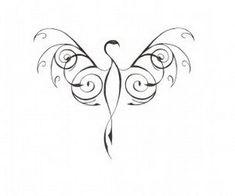 Minimalist bird tattoo design ideas 24