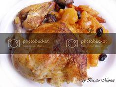 Pofta buna! Noi l-am servit cu cartofi taranesti si castraveciori murati. Pork, Meat, Chicken, Pork Roulade, Pigs, Buffalo Chicken, Cubs, Pork Chops