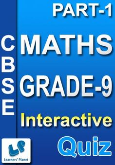 9-CBSE-MATHS-PART-1 Interactive quizzes & worksheets on Basic of geometry for grade-9 CBSE Maths students. Total Questions : 230+ Pattern of questions : Multiple Choice Questions   PRICE :- RS.61.00