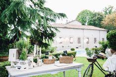 Image by Stefano Santucci - Villa Beccaris Piedmont Destination Wedding Stefano Santucci Photography Novia d'Art Bridal J.Crew Bridesmaids