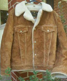 Vintage Brown Suede Fleece Lined Jacket - Vintage Brown Suede Fleece Lined Coat - Vintage Suede Coat - Vintage Suede Jacket - Suede Jacket by MyHailiesHaven on Etsy