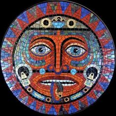 Image result for aztec mosaics