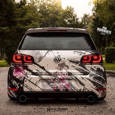 😍 mk6 GTI ❤🔝 dope wrap ✔️ I love this one. What about you buddies? ☺ budd