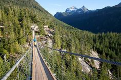 Sky Pilot Suspension Bridge at the Sea to Sky Gondola