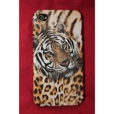 Tiger Head iPhone case