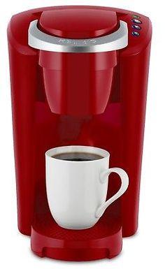 Keurig K-Compact Single Serve Coffee Maker RED kitchen Dorm room