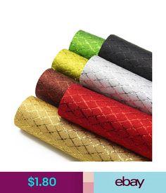 20 x 22cm CHUNKY DUAL GLITTER fabric Sheet Cotton Craft Hair Bows UK Seller