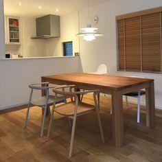 北欧テイスト/デザイナーズチェア/IKEA/無垢の床/ルイスポールセン ph5/北欧暮らしの道具店…などのインテリア実例 - 2015-05-23 21:27:25   RoomClip(ルームクリップ)