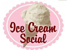 Spring Ice Cream Social clip art from the PTO Today Clip Art Gallery.