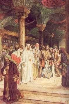 Jesús y la adúltera (William Hole)