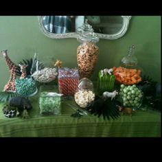 Jungle Baby Candy Bar