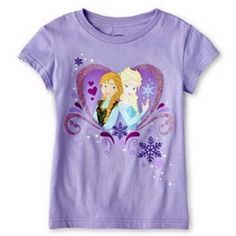 Disney Frozen Purple T shirt Size 78 Elsa Anna >>> Be sure to check out this awesome product.