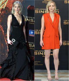 Jennifer Lawrence na pré-estreia de Jogos Vorazes: A Esperança - Parte 2 - Madri (Foto: Getty Images)