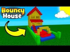 """http://minecraftstream.com/minecraft-tutorials/minecraft-tutorial-how-to-make-a-bouncy-house-bouncy-house-in-minecraft/ - Minecraft Tutorial: How To Make A Bouncy House """"Bouncy House In Minecraft"""" Hidden Base Playlist – https://www.youtube.com/playlist?list=PLVfyBBWTXosC6Ps-CHQxpQ6Df2tg3jyNg In this tutorial i show you how to make this fun bouncy house! Twitter – @TSMC360 Check Out My Figurine You Can Buy! https://zazzy.co/collectible/TSMC-figurine/ Animal Hous"""