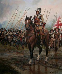Oficial. Ejército español. Siglo XVII. http://mas.asturias24.es/secciones/cronicas24/noticias/todas-las-batallas-de-augusto-ferrer-dalmau/1423069078