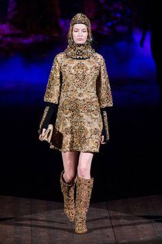 Dolce  Gabbana F/W 2014. #runway #rtw