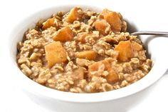 Oatmeal is hearty, super healthy, fiber rich and just plain good…Whether instant, cooked on the stove or baked in the oven, the combination of flavors you can fit into a serving of oatmeal is…