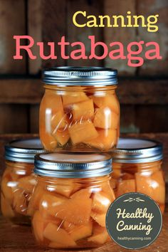 Canning rutabaga – Healthy Canning Canning Rutabaga 001 Pressure Canning Recipes, Canning 101, Home Canning, Pressure Cooker Recipes, Pressure Cooking, Canning Peas, Canning Peppers, Canning Asparagus, Canning Vegetables