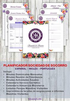 PLANIFICADOR SOCIEDAD DE SOCORRO 2016 Por: Ideas SUD De momento, solo en ESPAÑOL