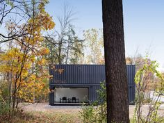 4 Shipping Containers Become a Classroom at Bard College - Design Milk