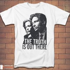 I want to believe X Files TV Fan Adult T-Shirt Black Geek Game White Red Gift