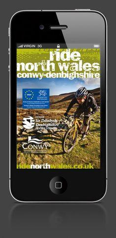 'Ride North Wales' branding Co Uk, White Fox, Fox Design, North Wales, Copywriting, Corporate Identity, Editorial, Branding, Brand Identity