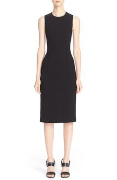 Michael Kors Stitch Detail Pebble Cady Sheath Dress available at #Nordstrom