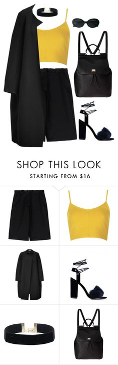 """Untitled #6580"" by heynathalie ❤ liked on Polyvore featuring Acne Studios, Topshop, Veronique Leroy, Dolce&Gabbana and Yves Saint Laurent"