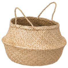 The handwoven rattan gives each basket a distinct and natural expression. This stable basket has many potential uses and is dimensioned for KALLAX shelving, giving it a unique look and function. Kallax, Malm, Small Storage, Storage Boxes, Storage Baskets, Ikea Storage, Storage Containers, Toy Storage, Hemnes