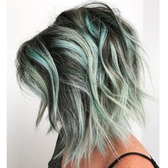 * Chocolate Chip Mint FORMULAS >>> by Erin BonneyHassell (@erin.boha_hair) of Boha Studio in Washington, North Carolina.
