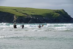 Cold enough for wetsuits, surfing