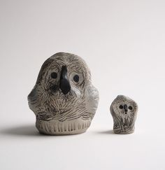 ❤ #new #ceramics #owl #small #cute #jennituominen www.jennituominen.com